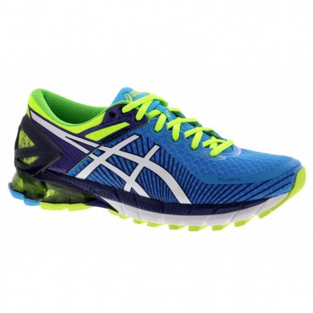 separation shoes ed088 2abd1 RUNNING SHOES ASICS GEL KINSEI 6 BLUE AND YELLOW FOR MEN S