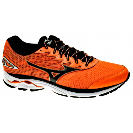 RUNNING SHOES MIZUNO WAVE RIDER 20 ORANGE AND BLACK FOR MEN S f9236d151f8d2