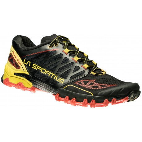 ultimi progetti diversificati cercare vendita più calda TRAIL RUNNING SHOES LA SPORTIVA BUSHIDO BLACK AND YELLOW FOR MEN'S -  Running Discount