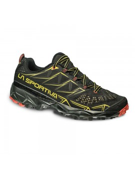 TRAIL RUNNING SHOES LA SPORTIVA AKYRA BLACK AND YELLOW FOR MEN'S