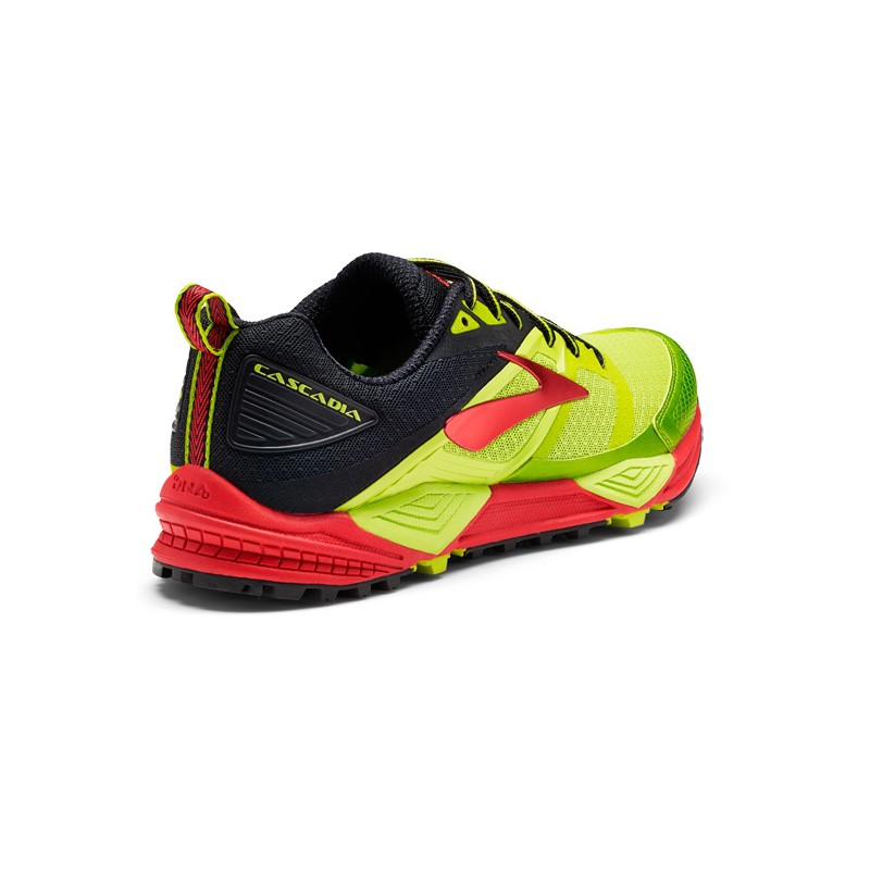274f5226b81 ... TRAIL RUNNING SHOES BROOKS CASCADIA 12 LIME POPSICLE