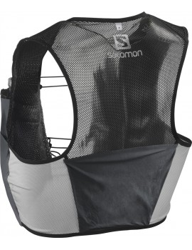 TRAIL RUNNING RACE VEST SALOMON S-LAB SENSE 2 SET BLACK