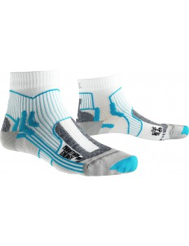 X-SOCKS MARATHON ENERGY WHITE AND BLUE FOR WOMEN'S