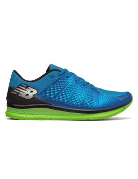 RUNNING SHOES NEW BALANCE FUELL CELL BLUE AND GREEN FOR MEN'S