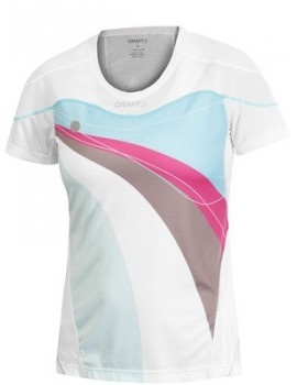 T-SHIRT DE RUNNING CRAFT PR LIGHT BLANC POUR FEMMES