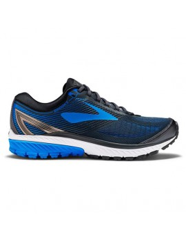 RUNNING SHOES BROOKS GHOST 10 BLUE AND BLACK FOR MEN'S