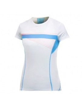CRAFT PRO COOL TEE WHITE AND BLUE FOR WOMEN'S