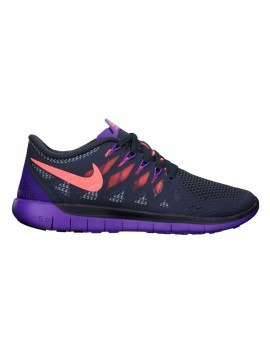 RUNNING SHOES NIKE FREE 5.0 BLACK AND PURPLE FOR WOMEN'S