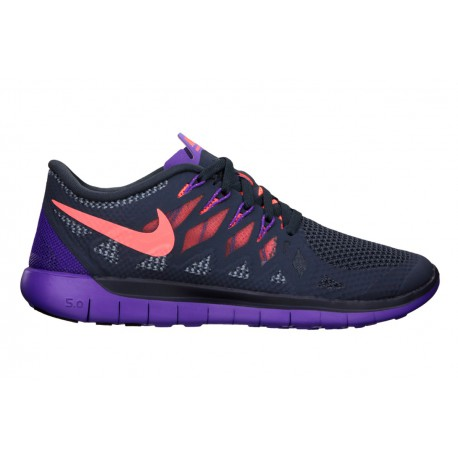 separation shoes 95cf0 5c1d6 RUNNING SHOES NIKE FREE 5.0 BLACK AND PURPLE FOR WOMEN S