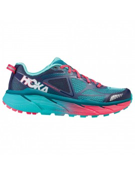 TRAIL RUNNING SHOES HOKA CHALLENGER ATR3 PEACOT AND CERAMIC FOR MEN'S
