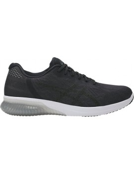 RUNNING SHOES ASICS GEL KENUN BLACK AND WHITE FOR MEN'S