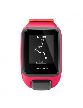 TOMTOM RUNNER 3 CARDIO GPS ROSE ET ORANGE