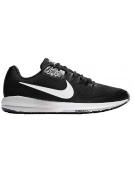 RUNNING SHOES NIKE AIR ZOOM STRUCTURE 21 BLACK AND WHITE FOR MEN'S
