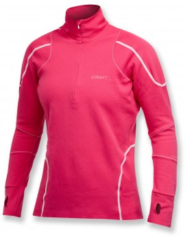 PULL DE RUNNING CRAFT THERMAL ROSE POUR FEMMES