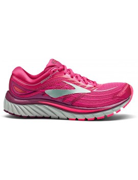 RUNNING SHOES BROOKS GLYCERIN 15 PINK AND GREY FOR WOMEN'S