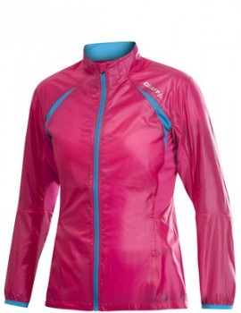 VESTE DE RUNNING CRAFT FEATHERLIGHT ROSE POUR FEMMES