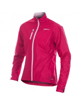 VESTE DE RUNNING CRAFT PR WEATHER ROSE POUR FEMMES
