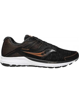 RUNNING SHOES SAUCONY RIDE 10 BLACK AND CUIVRE FOR MEN'S
