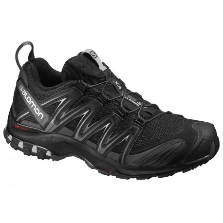 TRAIL RUNNING SHOES SALOMON XA PRO 3D BLACK FOR MEN'S