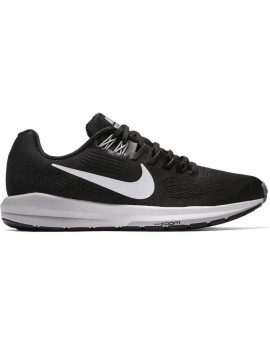 RUNNING SHOES NIKE AIR ZOOM STRUCTURE 21 BLACK AND WHITE FOR WOMEN'S