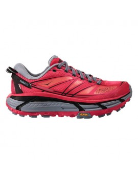 TRAIL RUNNING SHOES HOKA ONE ONE MAFATE SPEED 2 AZALEA AND BLACK FOR WOMEN'S