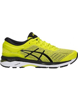 RUNNING SHOES ASICS GEL KAYANO 24 YELLOW FOR MEN'S