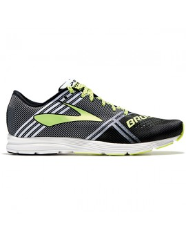 RUNNING SHOES BROOKS HYPERION BLACK, WHITE AND NIGHTLIFE FOR MEN'S