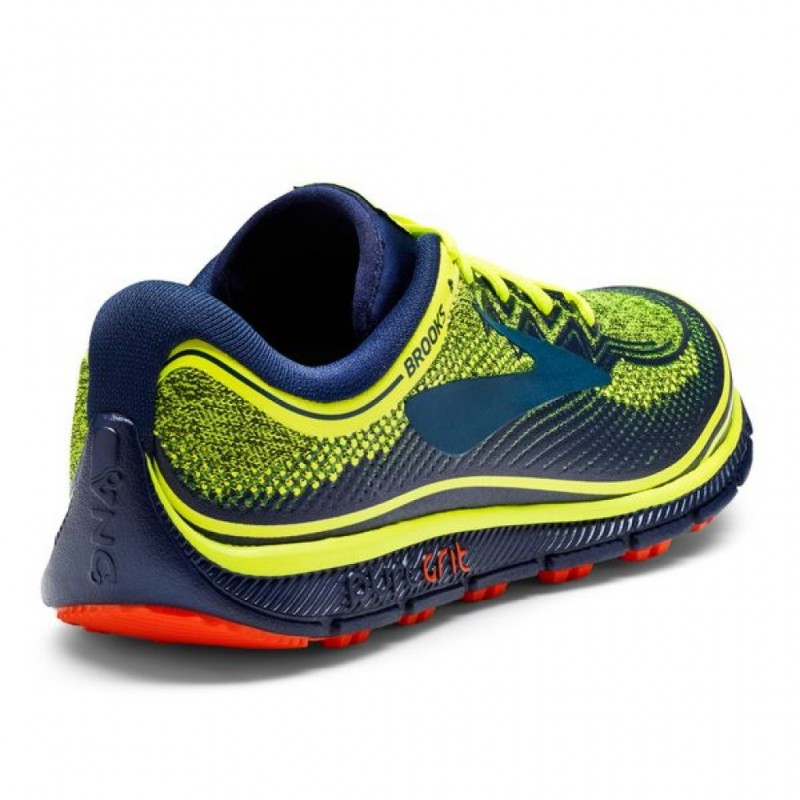 2d4783d0894 Trail running shoes brooks puregrit nightlife navy and orange for mens jpg  800x800 Brooks pure grit
