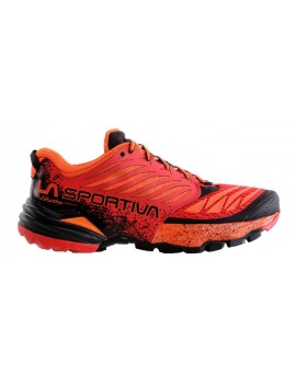 TRAIL RUNNING SHOES LA SPORTIVA AKASHA FLAME FOR MEN'S