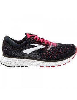 RUNNING SHOES BROOKS GLYCERIN 16 BLACK AND PINK FOR WOMEN'S