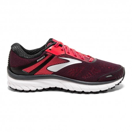 9a9b6dd44b744 RUNNING SHOES BROOKS ADRENALINE GTS 18 BLACK AND PINK FOR WOMEN S