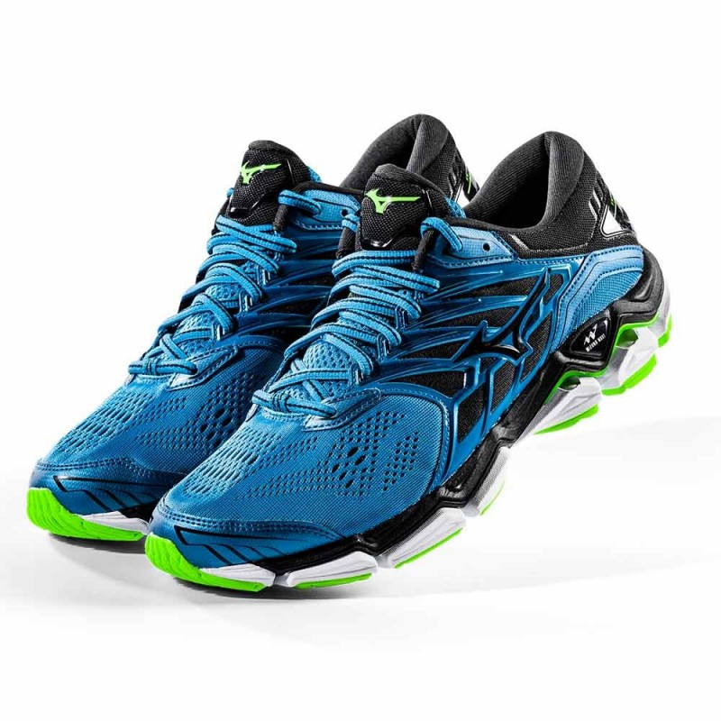 47eedca5265e Trail, firness specialist : RUNNING SHOES MIZUNO WAVE HORIZON 2 BLUE ...