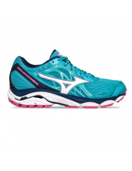 RUNNING SHOES MIZUNO WAVE INSPIRE 14 BLUE FOR WOMEN'S