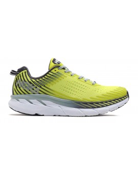CHAUSSURES DE RUNNING HOKA ONE ONE CLIFTON 5 JAUNE POUR HOMMES