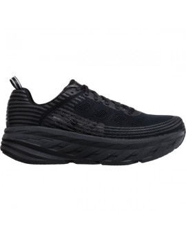 RUNNING SHOES HOKA ONE ONE BONDI 6 BLACK FOR MEN'S