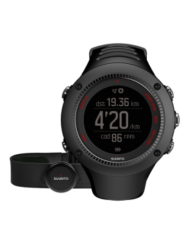 MULTISPORTS GPS WATCH SUUNTO AMBIT 3 HR RUN BLACK