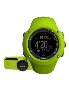MULTISPORTS GPS WATCH SUUNTO AMBIT 3 HR RUN GREEN