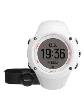 MULTISPORTS GPS WATCH SUUNTO AMBIT 3 HR RUN WHITE
