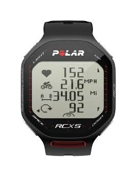 RUNNING WATCH POLAR RCX5 BLACK