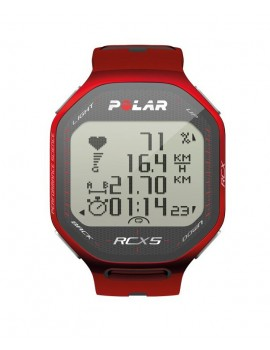 RUNNING WATCH POLAR RCX5 GPS RED