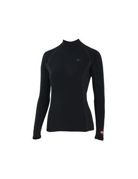 SOUS-VÊTEMENT MIZUNO MIDDLE WEIGHT LS 1/2 ZIP SHIRT FOR WOMEN'S