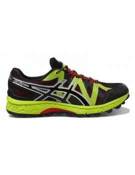 TRAIL RUNNING SHOES ASICS GEL FUJIELITE BLACK AND YELLOW FOR MEN'S