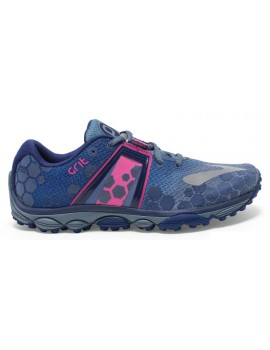 TRAIL RUNNNING SHOES BROOKS PUREGRIT 4 BLUE AND PINK FOR WOMEN'S