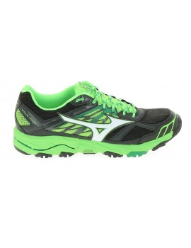 TRAIL RUNNING SHOES MIZUNO WAVE MUJIN 4 GREEN AND BLACK FOR MEN'S