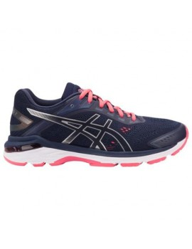 RUNNING SHOES ASICS GT 2000 V7 PEACOT AND SILVER FOR WOMEN'S