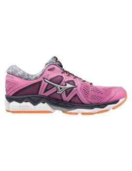 RUNNING SHOES MIZUNO WAVE SKY 2 PINK FOR WOMEN'S