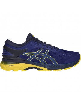 RUNNING SHOES ASICS GEL KAYANO 25 BLUE AND YELLOW FOR MEN'S