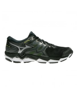 RUNNING SHOES MIZUNO WAVE HORIZON 3 BLACK AND YELLOW FOR MEN'S