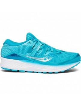 RUNNING SHOES SAUCONY RIDE ISO BLUE FOR WOMEN'S