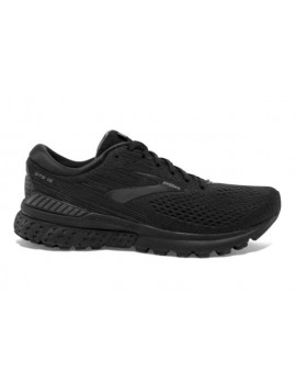 RUNNING SHOES BROOKS ADRENALINE GTS 19 BLACK FOR MEN'S
